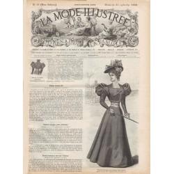 Revue complète de La Mode Illustrée 1896 N°38