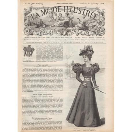 Complete magazine La Mode Illustrée 1896 N°38