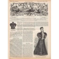 Revue complète de La Mode Illustrée 1896 N°40