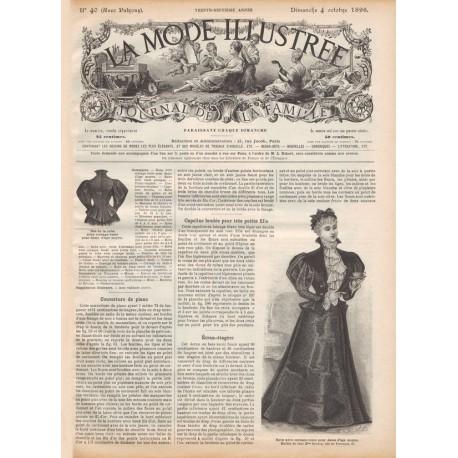 Complete magazine La Mode Illustrée 1896 N°40