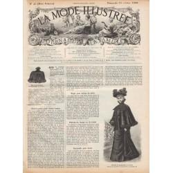 Revue complète de La Mode Illustrée 1896 N°42