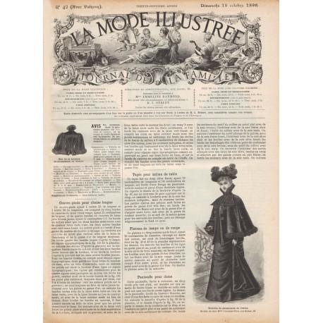 Complete magazine La Mode Illustrée 1896 N°42