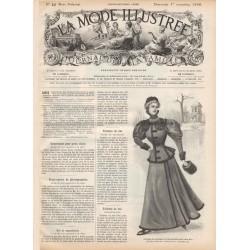Revue complète de La Mode Illustrée 1896 N°44