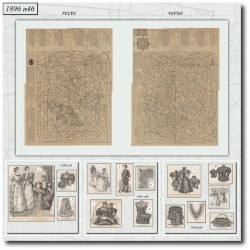 vykrojku La Mode Illustrée 1896 N°46