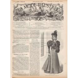 Complete magazine La Mode Illustrée 1896 N°46