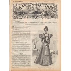 Revue complète de La Mode Illustrée 1896 N°49
