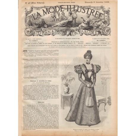Complete magazine La Mode Illustrée 1896 N°49