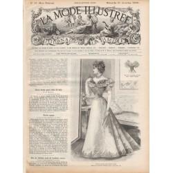 Complete magazine La Mode Illustrée 1896 N°51