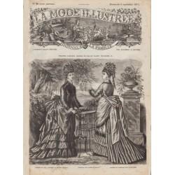 Complete magazine La Mode Illustrée 1874 N°36