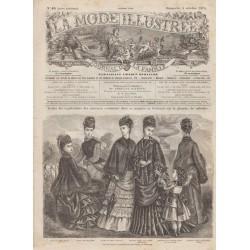 Revue complète de La Mode Illustrée 1874 N°40