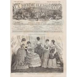 Revue complète de La Mode Illustrée 1874 N°51