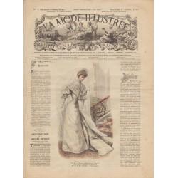 Complete magazine La Mode Illustrée 1905 N°01