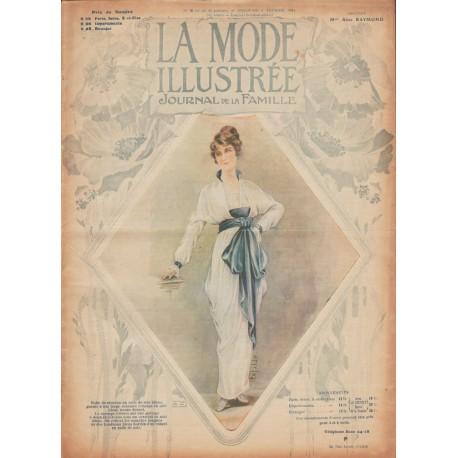 Complete magazine La Mode Illustrée 1914 N°06