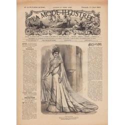 Complete magazine La Mode Illustrée 1900 N°33