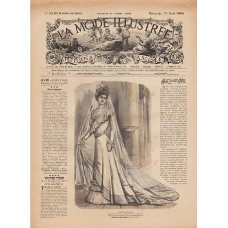 Revue La Mode Illustrée 1900-33