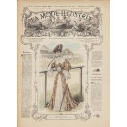 Complete magazine La Mode Illustrée 1905 N°23