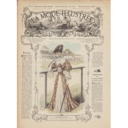 Revue complète de La Mode Illustrée 1905 N°23