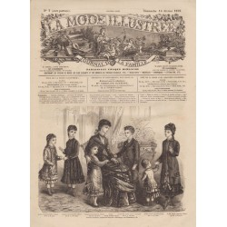 Complete magazine La Mode Illustrée 1879 N°07
