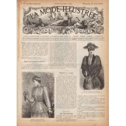 журнал La Mode Illustrée 1891 N°25