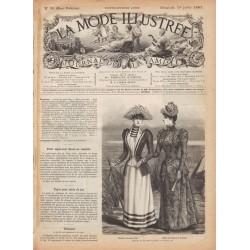 Complete magazine La Mode Illustrée 1891 N°29