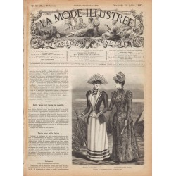 журнал La Mode Illustrée 1891 N°29