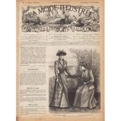 журнал La Mode Illustrée 1891 N°31