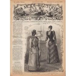 журнал La Mode Illustrée 1891 N°38