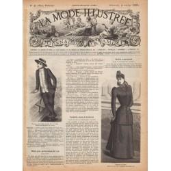 журнал La Mode Illustrée 1891 N°40