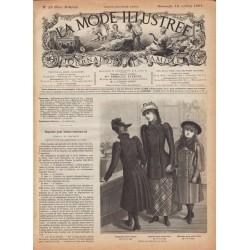 журнал La Mode Illustrée 1891 N°42