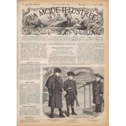 журнал La Mode Illustrée 1891 N°44