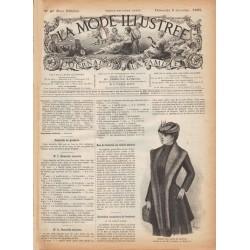 журнал La Mode Illustrée 1891 N°49