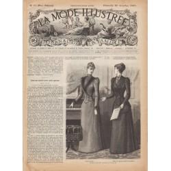 Revue complète de La Mode Illustrée 1891 N°51