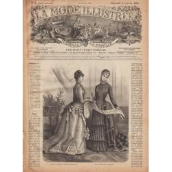 журнал La Mode Illustrée 1886 N°4