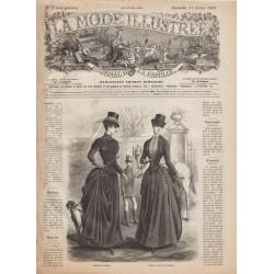 Complete magazine La Mode Illustrée 1886 N°7
