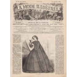 Complete magazine La Mode Illustrée 1861 N°37