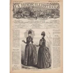 Complete magazine La Mode Illustrée 1886 N°17