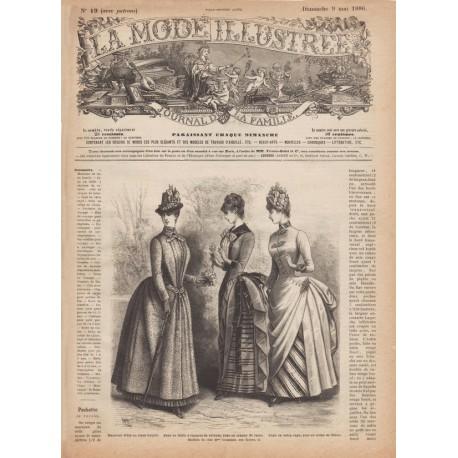 Complete magazine La Mode Illustrée 1886 N°19