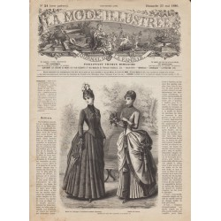 Revue complète de La Mode Illustrée 1886 N°21
