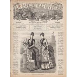 Complete magazine La Mode Illustrée 1886 N°30