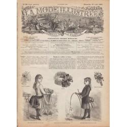 Revue complète de La Mode Illustrée 1886 N°35