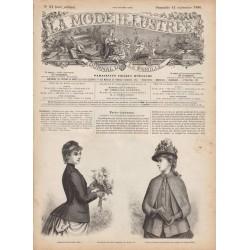 Complete magazine La Mode Illustrée 1886 N°37