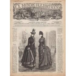 Revue complète de La Mode Illustrée 1886 N°39