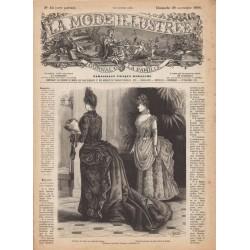 Complete magazine La Mode Illustrée 1886 N°48