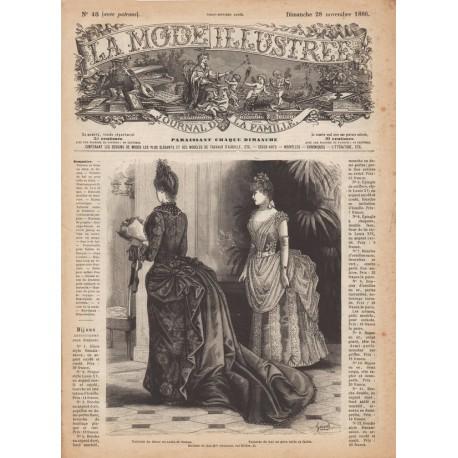 Revue complète de La Mode Illustrée 1886 N°48