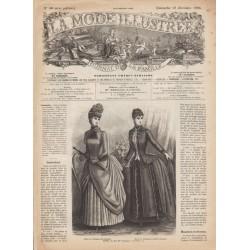 Revue complète de La Mode Illustrée 1886 N°50
