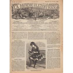 Revue complète de La Mode Illustrée 1886 N°52