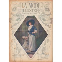 Complete magazine La Mode Illustrée 1912 N°38