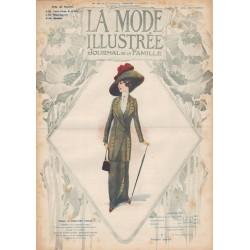 Complete magazine La Mode Illustrée 1912 N°41