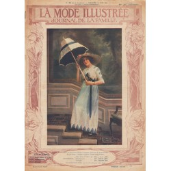 Complete magazine La Mode Illustrée 1912 N°25