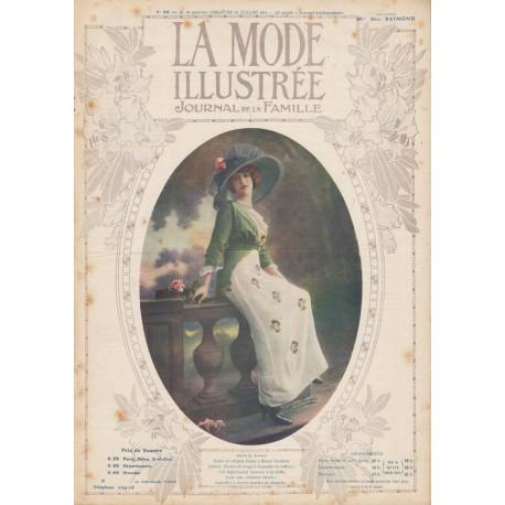 Complete magazine La Mode Illustrée 1912 N°30